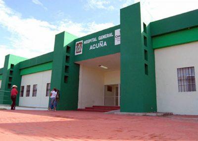 Hospital General   Cd. Acuña, Coahuila